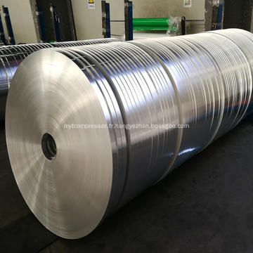 L'aileron en aluminium dépouille l'échange de chaleur pour le dessiccateur d'air