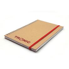 Nouveau Carnet de Papier Couverture en Cuir Kraft
