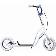12 Inch 2 Wheels Girl Foot Kick Scooter (MK15SC-12282)