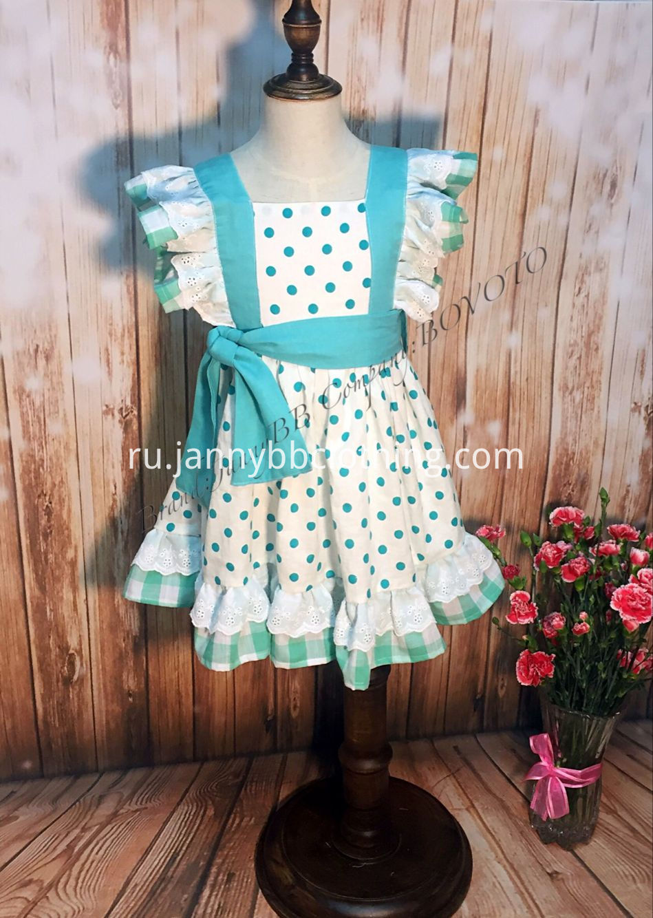 girls pinafore clothing set