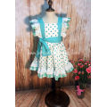 ruffle sleeve pinafore dress boutique clothing set