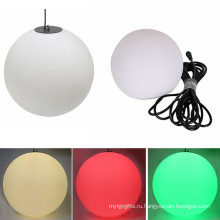 Кулон защиты IP65 с RGB и DMX СИД 3D висит шарик
