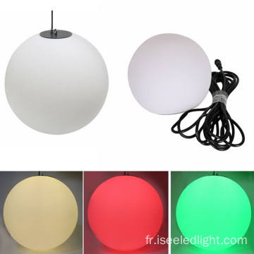Balle accrochante de la boule DMX 3D LED d'IP65 Rgb