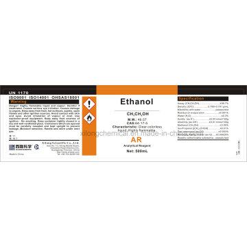 Analytische Reagenz Ar Klasse Ethanol absolut