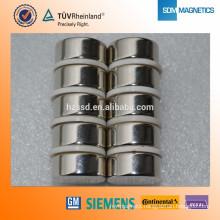 China Professional N52 Round Neodymium medical equipment magnet