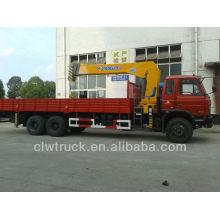 Hot Sale Dongfeng 6x4 Crane Truck 6 tons