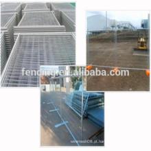 Venda quente Construção Galvanizado Canadá Cerca Temporária Painel / Painéis de Cerca De Metal Soldado Temporária para Venda (preço de fábrica)