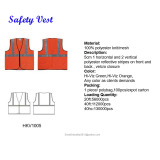 high quality stock roadway safety clothing orange and yellow inventory reflective safety vest