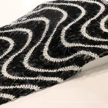Laço de bordado de lã de moda para vestuário