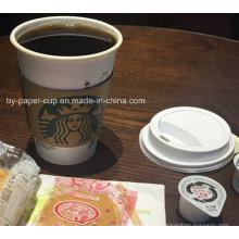 Thermostabilité des coupes de papier pour le café en bonne qualité