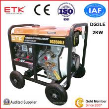 2kw Homeuse Electric Generator (DG 3LE)