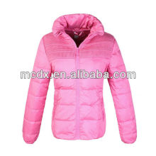 2015 pink women down jackets