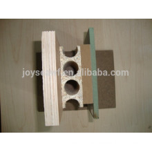 hollow core chipboard door core usage tubular chipboard door core