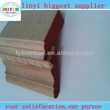 corniches de plafond en bois d'ingénierie décoratives