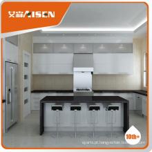 Design de cozinha personalizado Modern Style High Gloss Lacquer painting Kitchen Cabinet