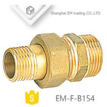 EM-F-B154 Conexión de tubería de unión de rosca macho de latón del fabricante