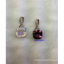Jewellery-Mystic Quartz Sterling Silver Pendant (P199)