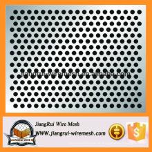 Folha de metal perfurada venda quente / folha de metal perfurada hexagonal / folha perfurada