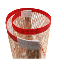 Correa de secado de alimentos con correa de malla de PTFE antiadherente