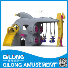 Wenzhou Manufacturer Outdoor Playground Equipment Slides (QL14-132D)