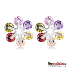 Ferris Wheel Lover Stud Earrings (CER0211-B)