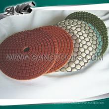 Resin Wet Polishing Pad, Dry Polishing Pad