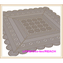 Hot Sale Vinyl Lace Ready Made Table Cloth Factory