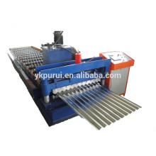 Machine de fabrication de tôlerie en tôle ondulée professionnelle en acier