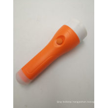 Strong Light Orange Rechargeable LED Torch