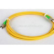 China Factory FC APC single mode sm 9/125 optical fiber optic patch cord/jumper