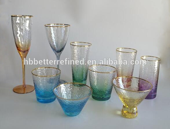 Aurora Crystal Wine Glass Set