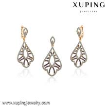 64147-18k gold jewelry turkish wedding jewelry sets
