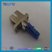 Adaptateur fibre optique hybride femelle LC Male-Sc