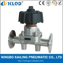 Manual Operated Pneumatic Diaphragm Valve Klgmf-15f
