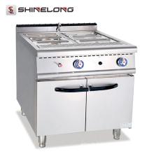2017 la dernière conception de réchauffeur de nourriture au gaz bain marie avec le Cabinet