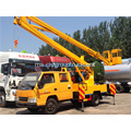 15m 4x2 Folding Jib Aerial Working Vehicle