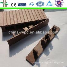WPC tampa lateral para o wpc decking