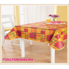 Vinyl Tablecloth/Wedding Table Overlays PVC in Wholesale