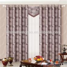 Tratamientos de ventana de tela de doble capa de gran tamaño