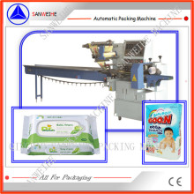 Swsf-450 High Speed Automatic Pillow Bag Wrapping Packing Machine