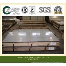 Placa de aço inoxidável Tp 304 / 304L
