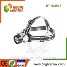 China Venta al por mayor de la fábrica Plástico ABS barato 5MM LED de alta potencia mult-función Buen faro de la explotación minera de la correa