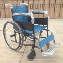 Pl-803b Manual Powder Coating Thicker Steel Frame Wheel Chairs