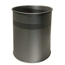 Office Steel Dust Bin Waste Bin 15L Indoor Trash Bin