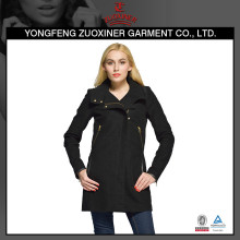 closest women's long black leisure classic jacket