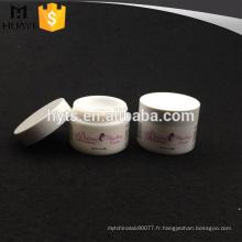Pot en céramique cosmétique en gros de fantaisie de 50ml