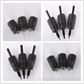 Professional Black Sterilized Disposable Rubber Tattoo Grips
