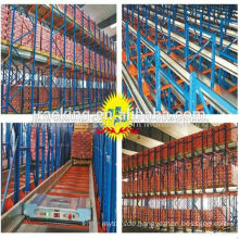 Warehouse design, Jracking high density Radio warehouse shuttle racking for cold storage stackable racks