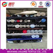 Polyester coton sergé TC tissé de haute qualité 108 * 58 tissu 128 * 60 Poly / coton TC Khaki Tissu / sergé blanc