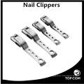 360 grau de rotação longo alça cortador de unhas oem logotipo personalizado toe cortador de unhas